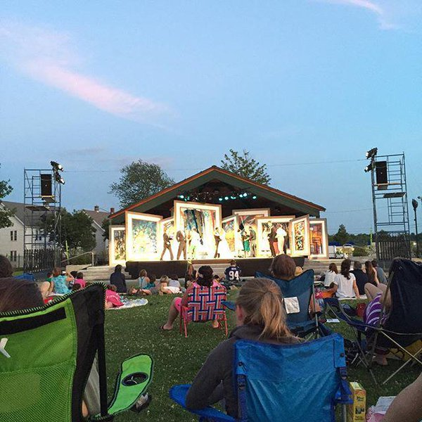 Shakespeare in the Park performance of Romeo + Juliet