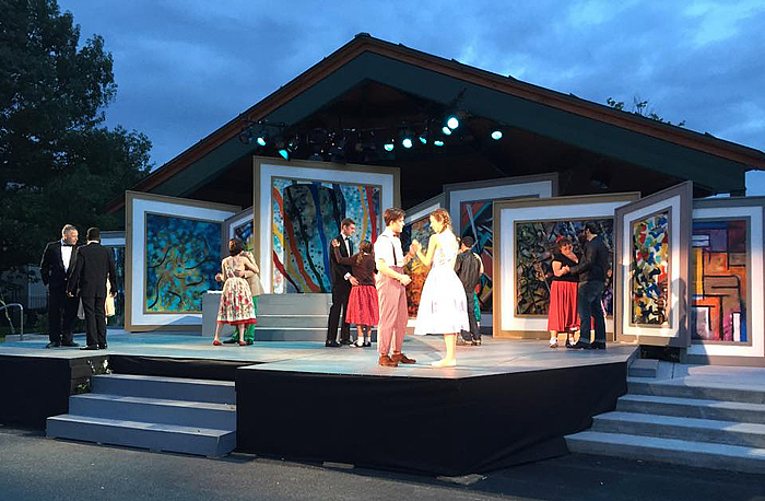 Performance of Shakespeare in the Park at The Common